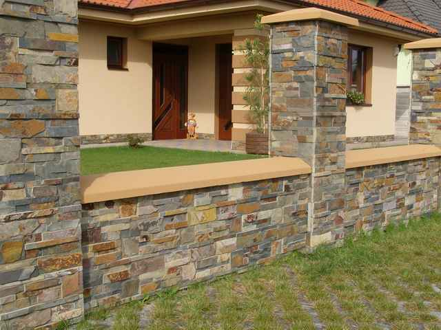 Kam garden fotogalerie - Piedra para paredes exteriores ...